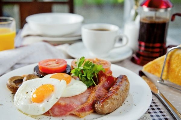 The Place To Stay, Frome, Somerset, Guest House family bed and breakfast accommodation ~ Breakfast Choices