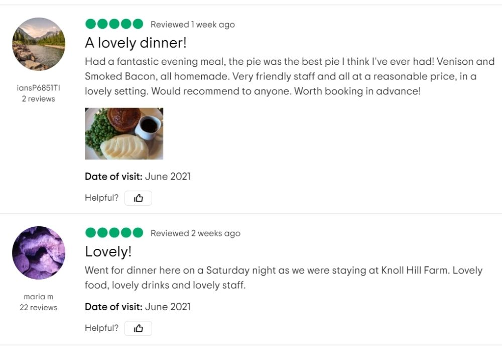 Two 5 star Tripadvisor reviews for The White Hart, Trudoxhill, Frome - Famous for good homecooked food and fine drinks